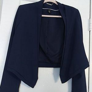 WHBM Blue Blazer size 6
